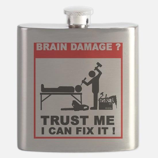 Brain damage,Trust me, I can fix it! Flask
