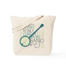 Banjo_White Tote Bag