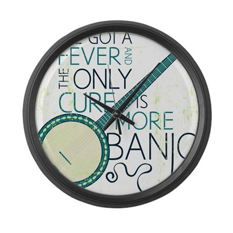 Banjo White Large Wall Clock By Admin Cp16149232