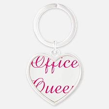 Office Heart Keychain