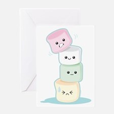 stackedmarshmallows Greeting Card
