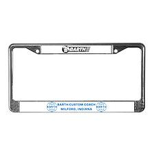 Barth License Plate Frame