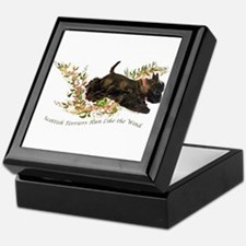 Scottish Terriers run like th Keepsake Box