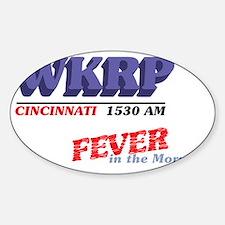 wkrpfever-04 Sticker (Oval)