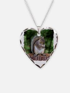 Squirrel nuts w Necklace