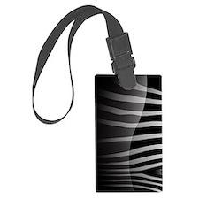 Stylish Zebra Luggage Tag
