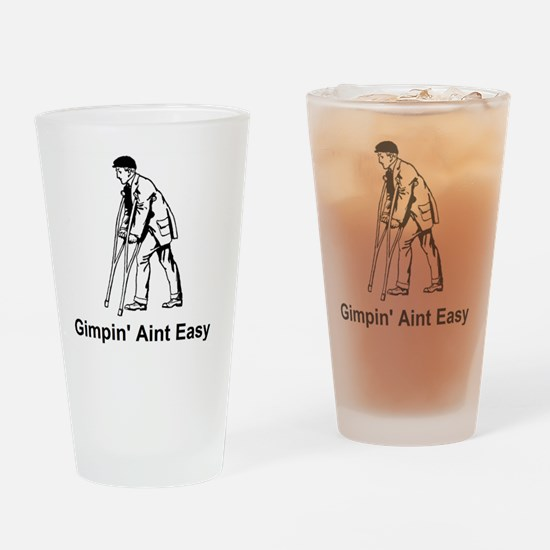 Gimp.gif Drinking Glass