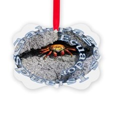 circle_crab Picture Ornament