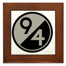94th Division Framed Tile