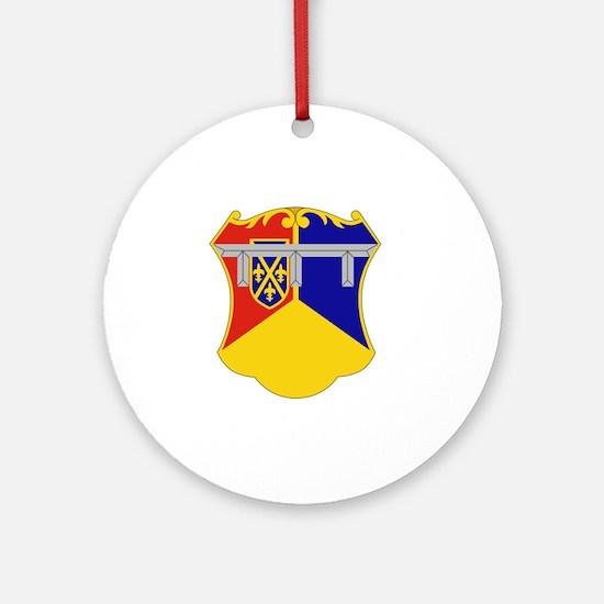 66th Armor Regiment Round Ornament