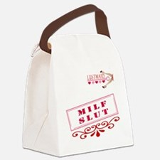 MILF--SLUT Canvas Lunch Bag