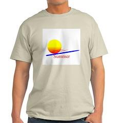 Summer Ash Grey T-Shirt
