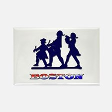 Boston Patriot Rectangle Magnet
