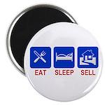 "Eat. Sleep. Sell. 2.25"" Magnet (10 pack)"