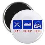 Eat. Sleep. Sell. Magnet