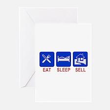 Eat. Sleep. Sell. Greeting Cards (Pk of 10)