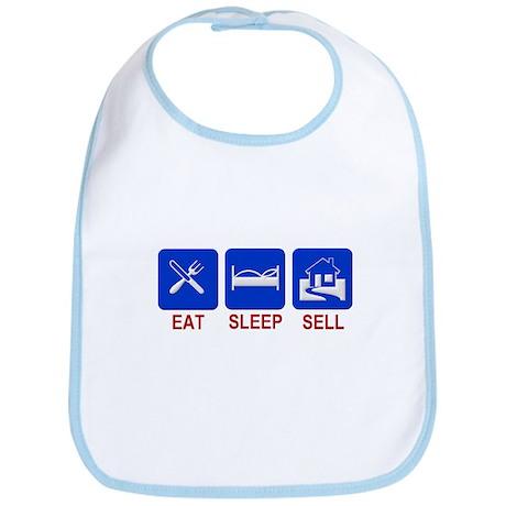 Eat. Sleep. Sell. Bib