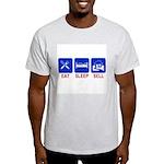 Eat. Sleep. Sell. Ash Grey T-Shirt