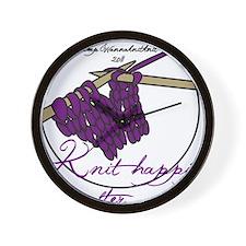 CWKK11 3 Purple Wall Clock