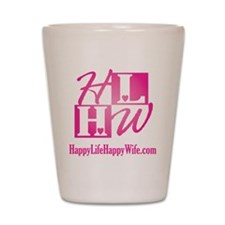 HLHW-Logo-PinkFade Shot Glass