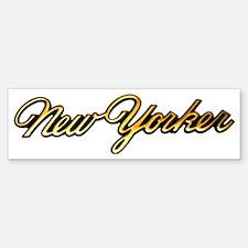 chrysler-new-yorker-script Bumper Bumper Sticker