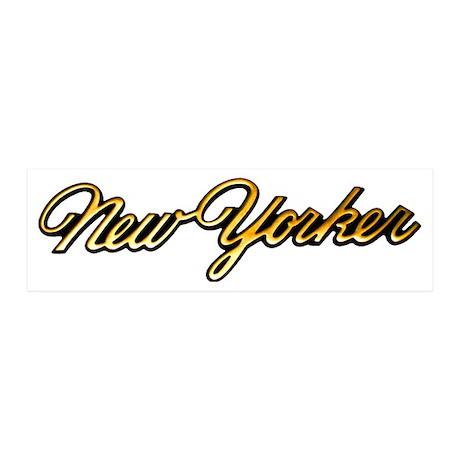 chrysler-new-yorker-script 20x6 Wall Decal