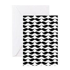 Cute Mustache Greeting Cards