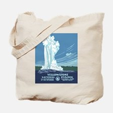 5x8_journal_yellowstone Tote Bag