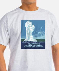 5x8_journal_yellowstone T-Shirt