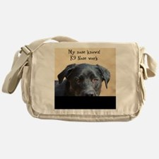 Nose knows Messenger Bag