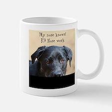 Nose knows Mugs