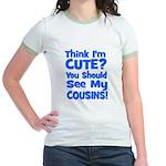 Think I'm Cute? CousinS {Plur Jr. Ringer T-Shirt
