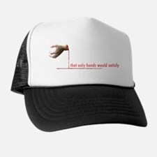 Llamas-D3-BlackApparel Trucker Hat