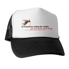 Llamas-D3-WhiteApparel Trucker Hat