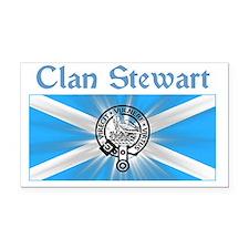 stewart-shirt-001a1a Rectangle Car Magnet