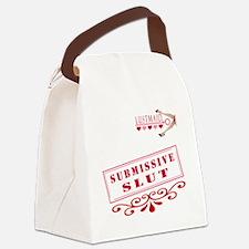 SUBMISSIVE--SLUT Canvas Lunch Bag