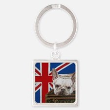 FrenchBull 8x10 Square Keychain