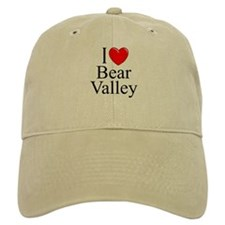 """I Love Bear Valley"" Baseball Cap"
