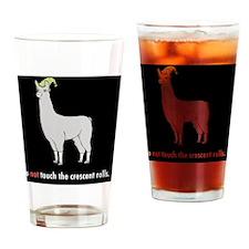 Llamas-D7-Journal Drinking Glass