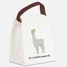 Llamas-D7-WaterBottle Canvas Lunch Bag