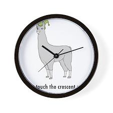 Llamas-D7-WhiteApparel Wall Clock