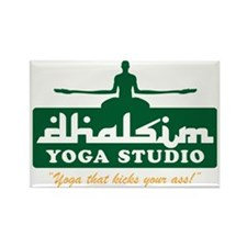 Yoga Rectangle Magnet