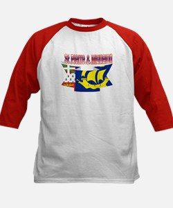Saint-Pierre and Miquelon flag ribbon Tee
