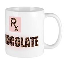 chocolate candy design prescription rx Mug