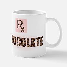chocolate candy design prescription rx Mug