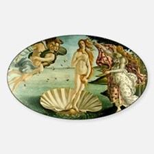 Botticelli Birth of Venus Sticker (Oval)