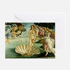 Botticelli Birth of Venus Greeting Card
