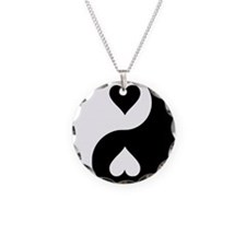 yingyang_heart Necklace