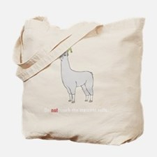 Llamas-D7-BlackApparel Tote Bag