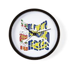 Saint-Pierre et Miquelon sports Wall Clock